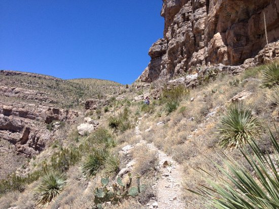 Alamogordo, NM: Trail around mile 3.5