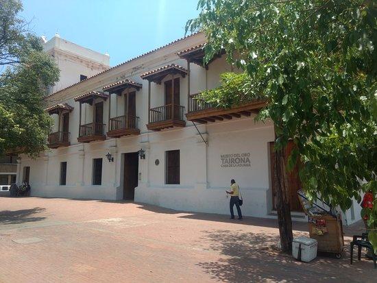 Santa Marta District, Κολομβία: Casa de la Aduana (hoy Museo del Oro Tairona)