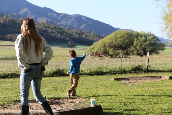 Rankin Ranch: Horseshoes at The Meadow