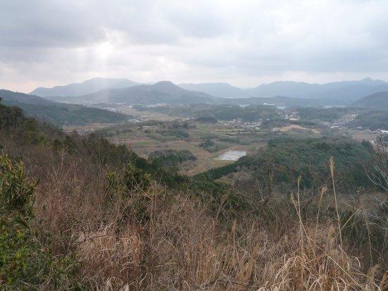 Ama-cho, Ιαπωνία: 金光寺山からの景色