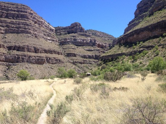 Dog Canyon Trail