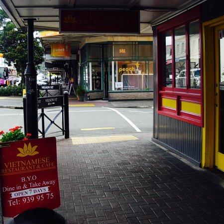 Petone, Новая Зеландия: footpath view
