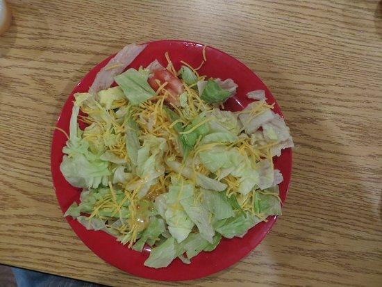 Wheelersburg, OH: Garden salad was a generous size