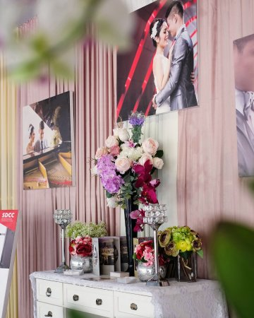 wedding corner on special occasion picture of hotel santika