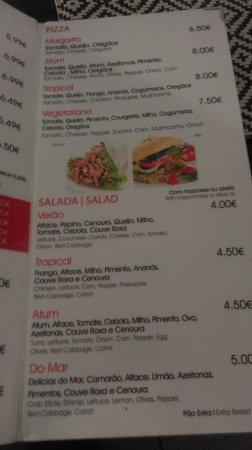 El Sahara Kebab: Menu