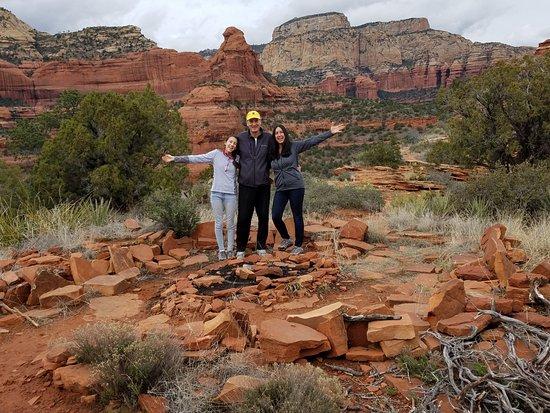 On Mescal Mountain  Sedona, AZ  By Red Earth Adventures