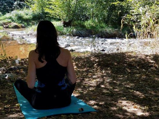 Kundalini Yoga Meditation at Sedona Vortex  Red Earth