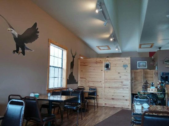 Heber, AZ: Interior of Three Bear's Cafe