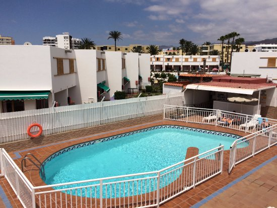 Las Perlas : Hotel pool
