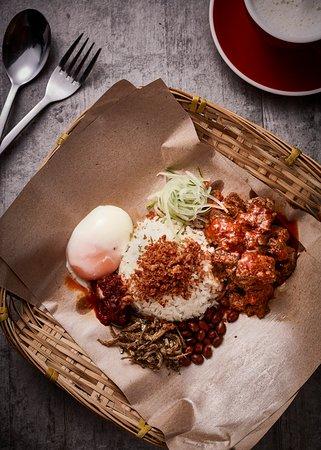 VILLAGE Rendang Mutton(Lamb) Rice Set