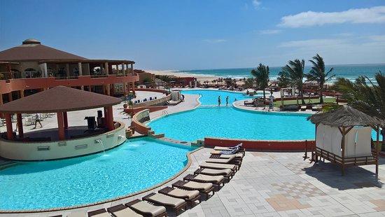 Royal Decameron Boa Vista : Bazény s mořskou vodou
