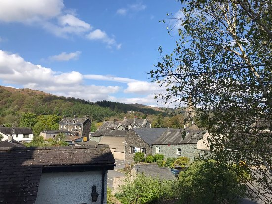 Ferndale Lodge: Overlooking Ambleside and the hills