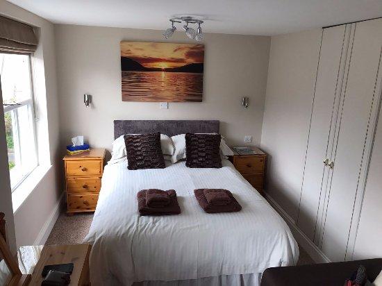 Ferndale Lodge: Lovely room