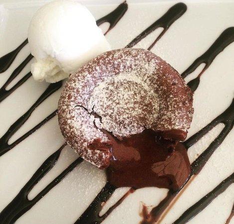 Fiumefreddo di Sicilia, Italy: Tortino al cioccolato