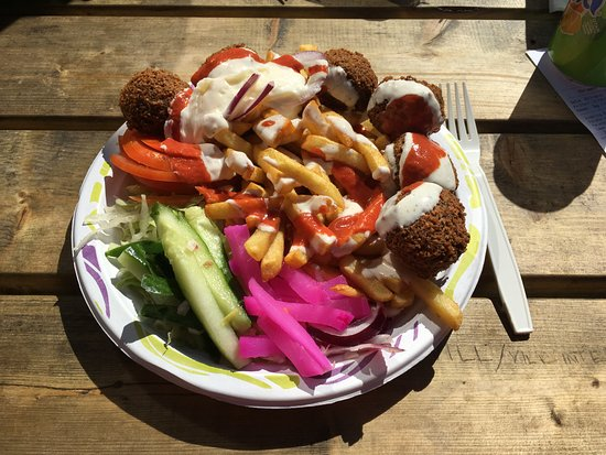 Hastkott i kebab i malmo