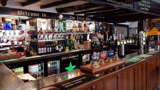 Chipping Sodbury, UK: Main Bar