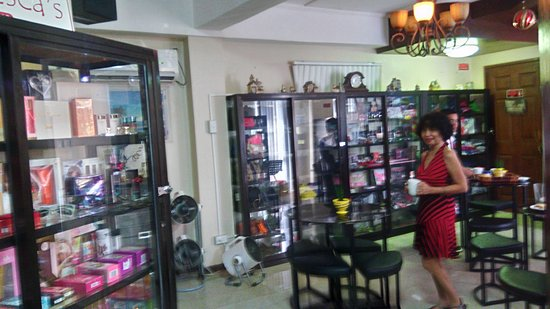 Balamban, Philippines: Consumer Goods on Display for Sale in the Dining Area
