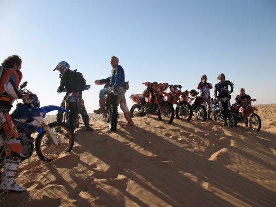 Sao Bartolomeu de Messines, Portugal: Raid moto enduro Sahara - Tunisie
