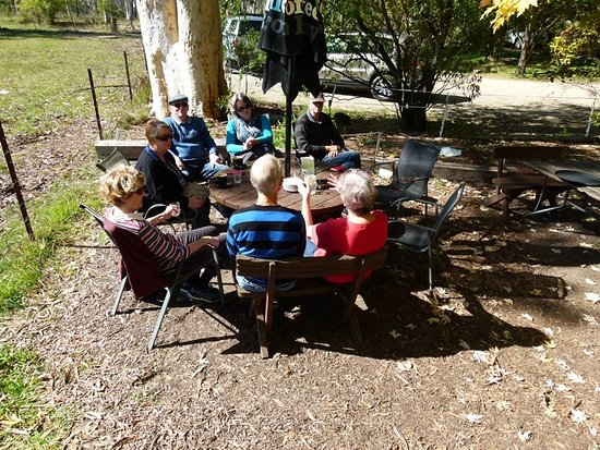 Megalong Valley, Australië: There were eight of us enjoying bruch at Megalong Tea Rooms.