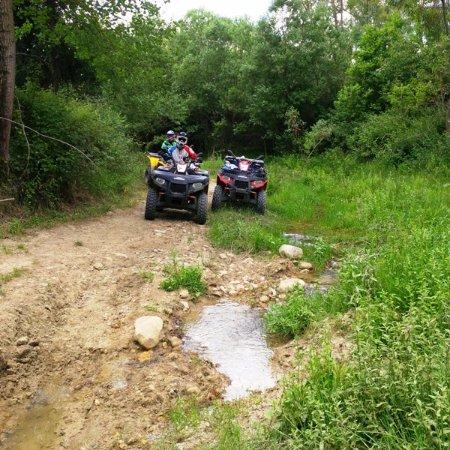 Sao Bartolomeu de Messines, Portugal: Sicile à moto enduro ou quad