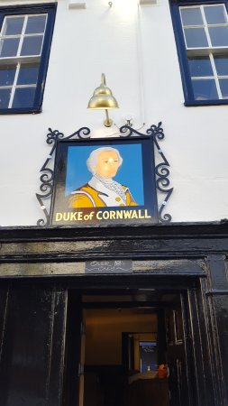 ‪The Duke of Cornwall‬