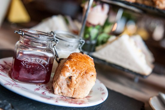 Blaenavon, UK: Afternoon tea scones