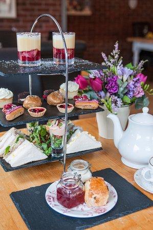 Blaenavon, UK: Afternoon tea in The Garden Room
