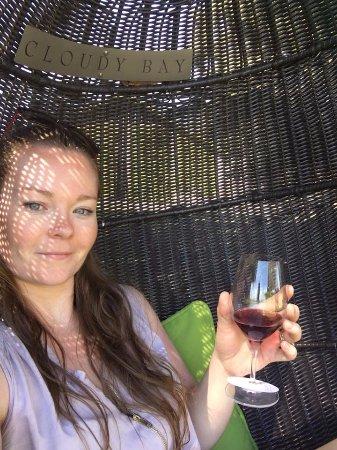 Rapaura, New Zealand: THE best way to drink wine!