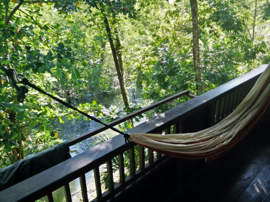 Mamaling Resort Bunaken: balcony from the bungalow