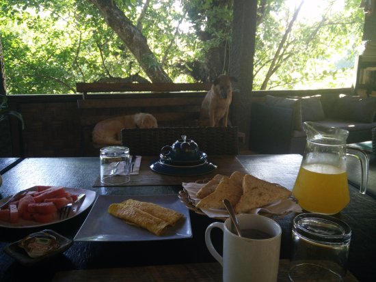 Mamaling Resort Bunaken: delicious breakfast and fresh fruit