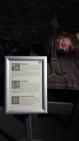 Torture Museum Oude Steen Foto
