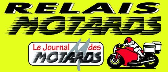 Carcans, França: En devant relais motards, Claire et Michel , motards eux-même, accueillent les groupes avec plai