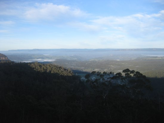 Blackheath, Australia: view from lookout