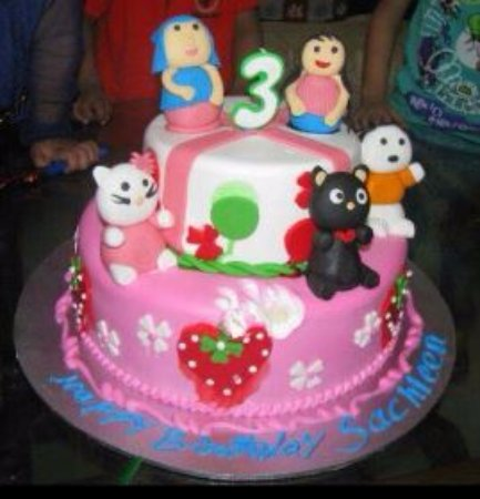 Miraculous 3Rd Bday Cake Picture Of Sir John Bakery Cafe Ghaziabad Personalised Birthday Cards Beptaeletsinfo