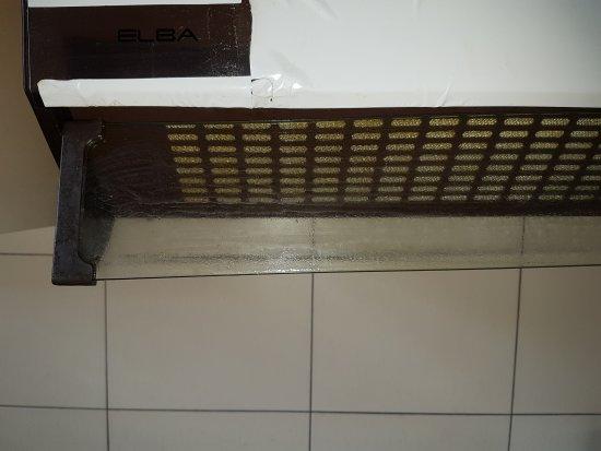 Hotte de cuisine avec bande adh sive pour tenir picture - Bande adhesive murale ...