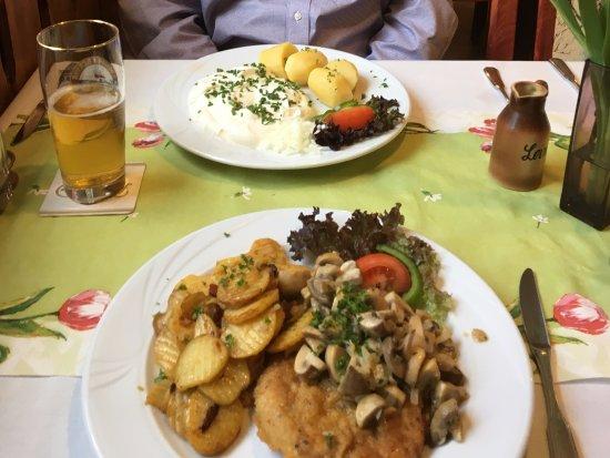 Spremberg, Deutschland: Traditional, local German cuisine