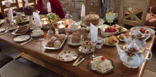 The Old Rectory Tearoom Hen Party Afternoon Tea Rooms