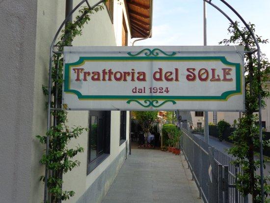 Airasca, Italia: Ingresso