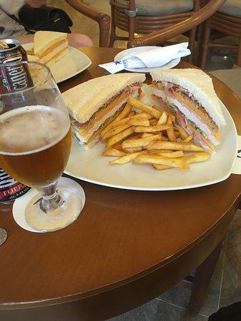Iberostar Grand Hotel Trinidad: Massive sandwich very tasty