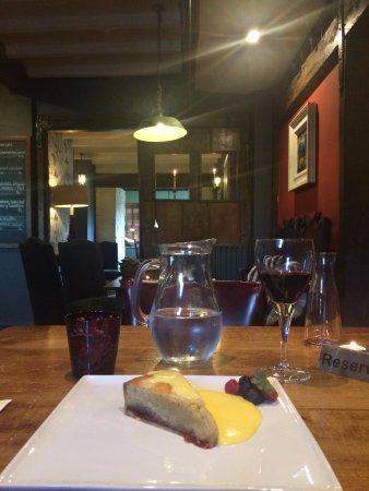 Long Compton, UK: Bakewell tart