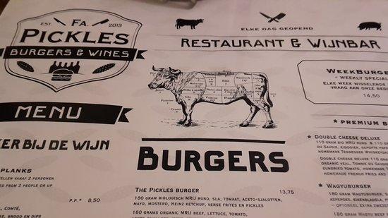 Hamburger Jalapeno Foto Van Firma Pickles Burgers