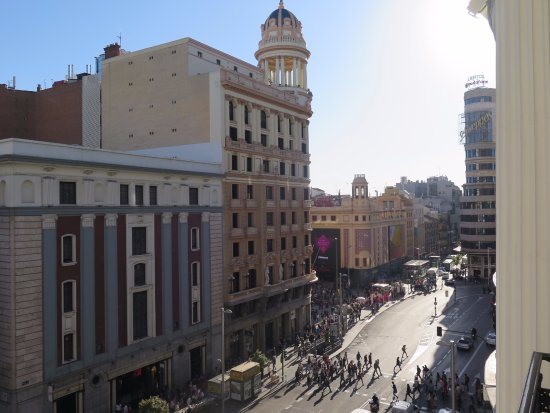 The Hotel From Gran Via Picture Of Hotel Atlantico