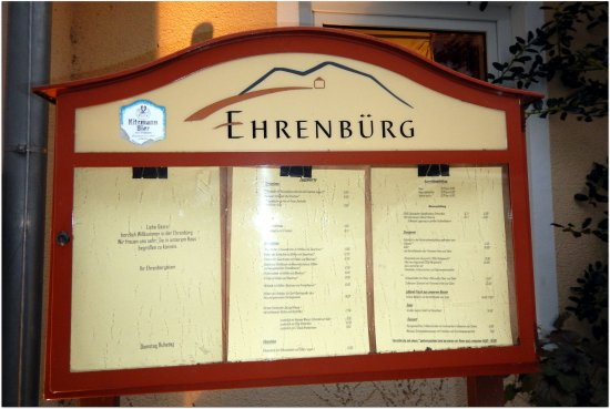 Wiesenthau, Tyskland: Restaurant Ehrenbuerg