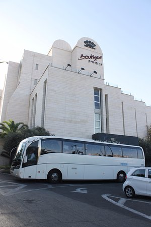Dan Boutique Jerusalem: hotel exterior