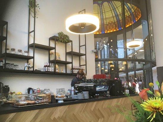 koffie bij teun leuk en gezellig interieur