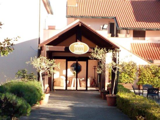 Arcidosso, Italien: Ingresso hotel