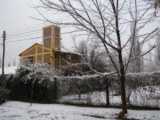 La Posada del Bermejo: pocas veces se puede disfrutar  la nieve en Bermejo