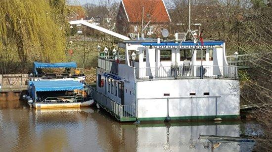 Haren, Deutschland: Restaurantschiff Blaue Donau