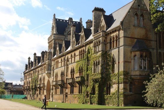 The Building Hogwarts Was Based Off Of Picture Of Wander Oxford