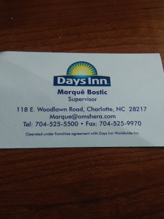 Days Inn Charlotte/woodlawn Near Carowinds: TA_IMG_20170504_104643_large.jpg